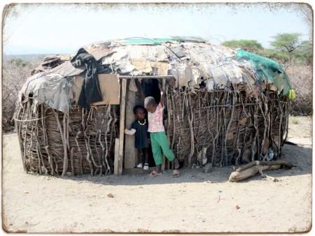 Samburu Building and Children